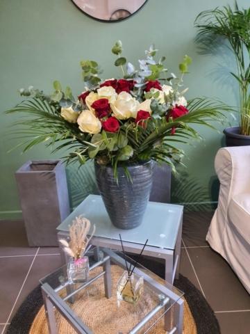 Bouquet de roses 70cm